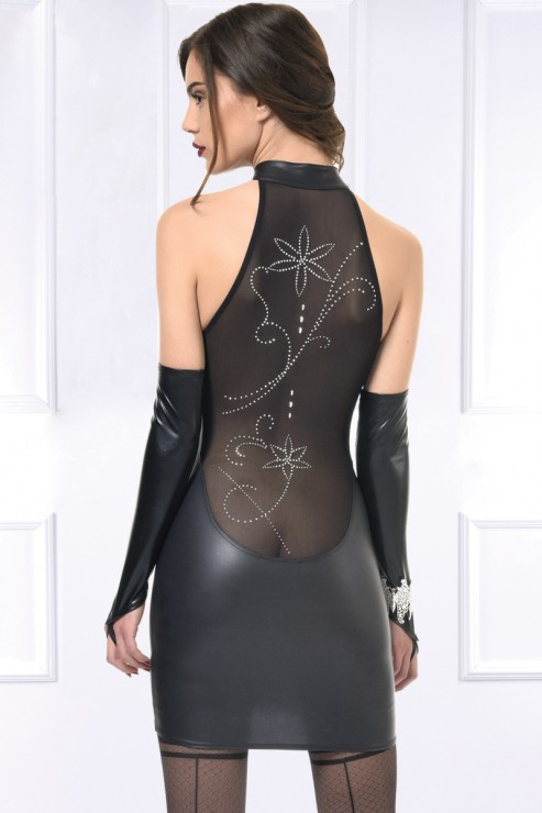 Patrice Catanzaro - Vita Party Dress - Black