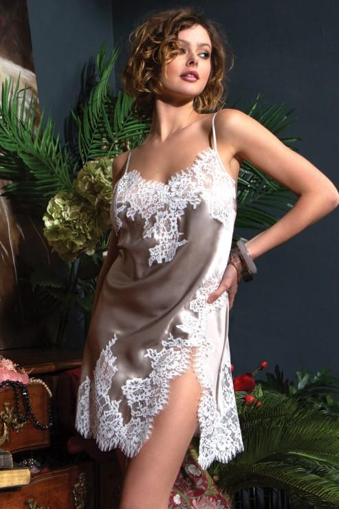 Marjolaine - Silk Negligee - 3LYL0102-3874