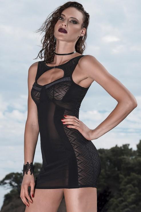 Patrice Catanzaro - Neva Party Dress - Black