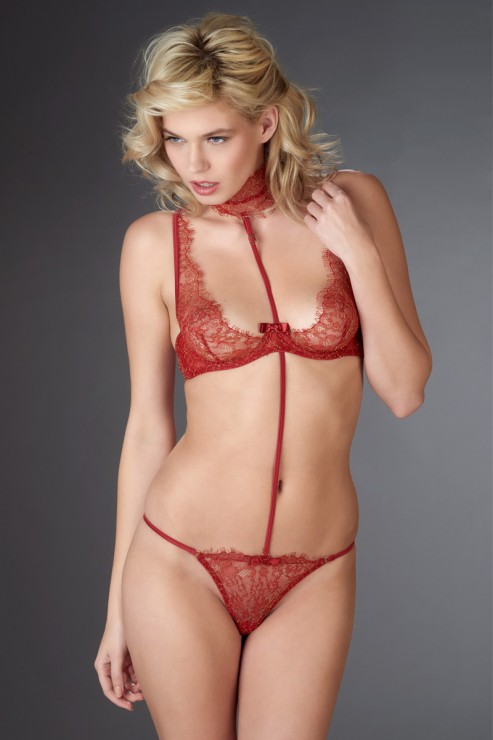 Maison Close - Jardin Imperial Harness - Red