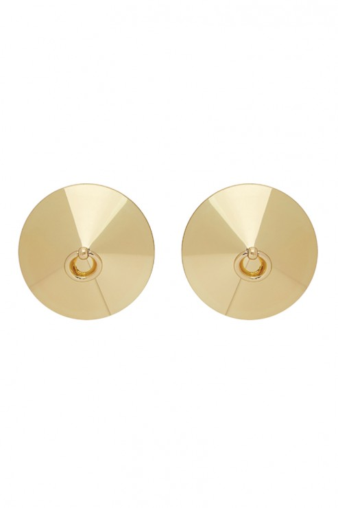 Bordelle Lingerie - Gold plated O Ring Nipplets - 24K Gold