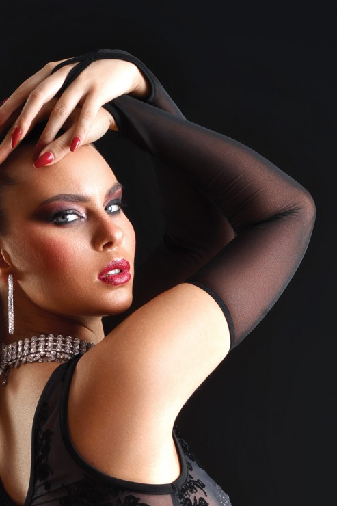 Patrice Catanzaro - Mesh Arm Sleeves Set - Black