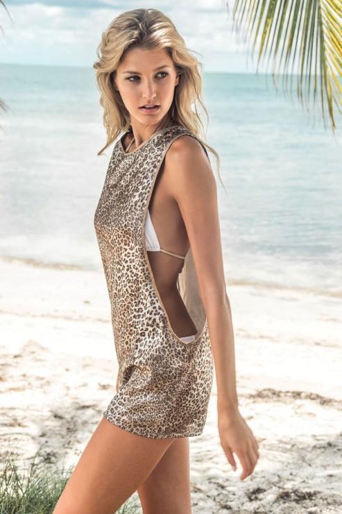 Eniqua - Glitter Leo - Tank Dress
