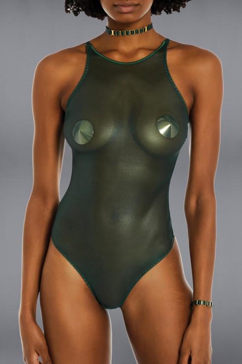 Bordelle Lingerie - Ula Body - Eden Green