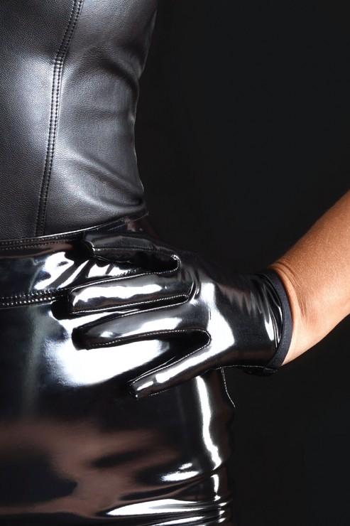 Maison Catanzaro - Molly Vinyl Gloves - Black