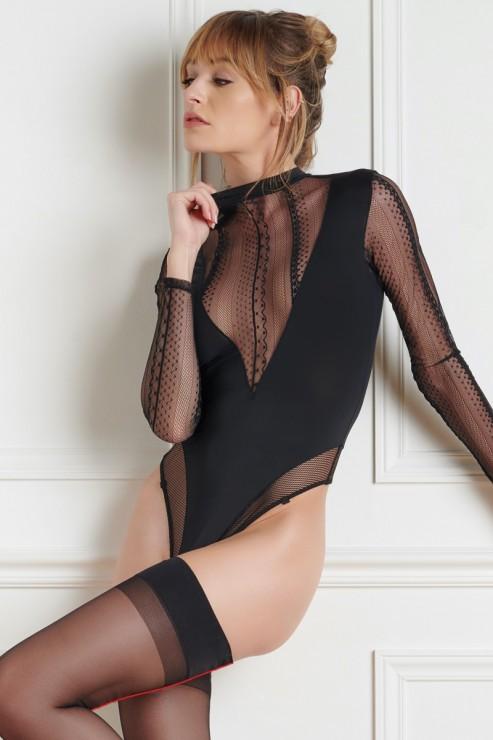Maison Close - Sacre Coeur Thong Body - Black