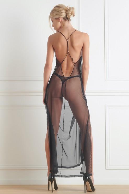 Maison Close - Madame Reve Mesh Dress - Black