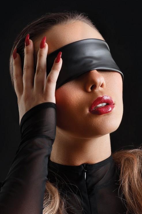 Maison Catanzaro - Wetlook Blindfold - Black