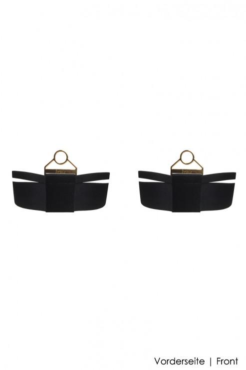 Bordelle Lingerie - Rey Garters - Black