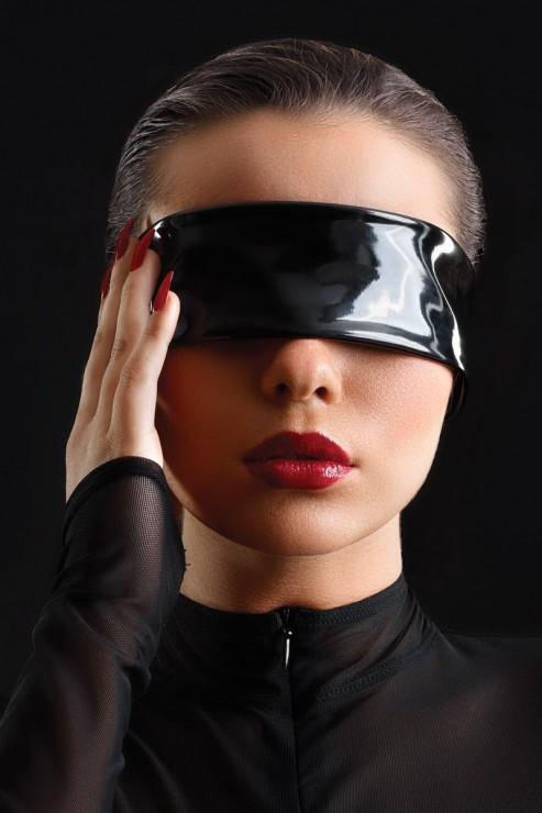 Maison Catanzaro - Vinyl Blindfold - Black