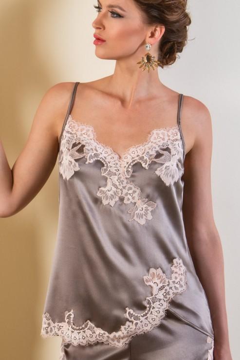 Cotton Club Silk - Lingerie Top - Primario