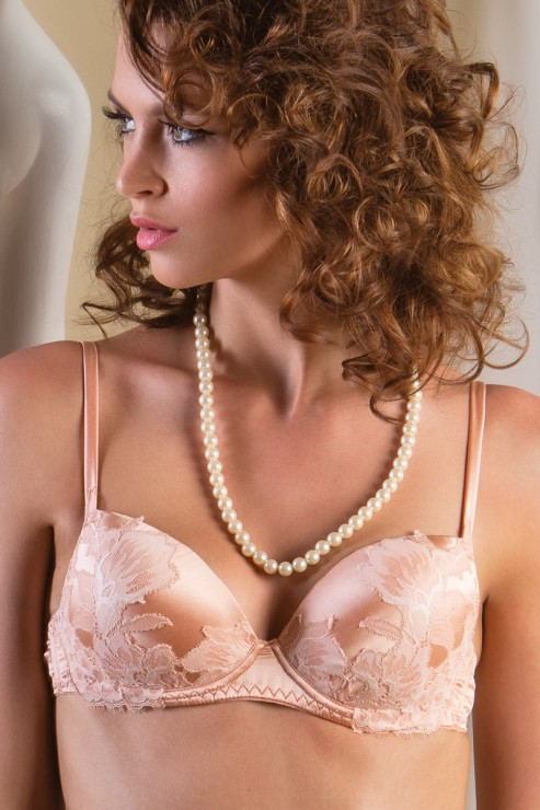 Cotton Club Silk - Push up Bra - Sommo