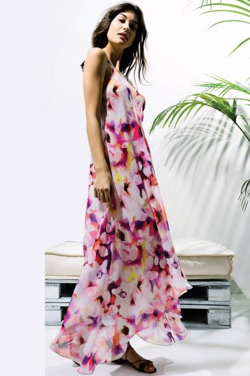 Luna di Seta - Beach Dress - LCA1004-0302