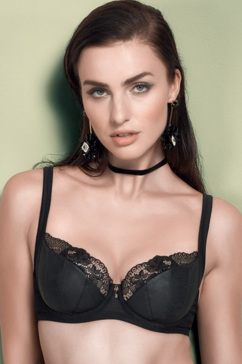 Escora - Ariana Wired Bra - Black